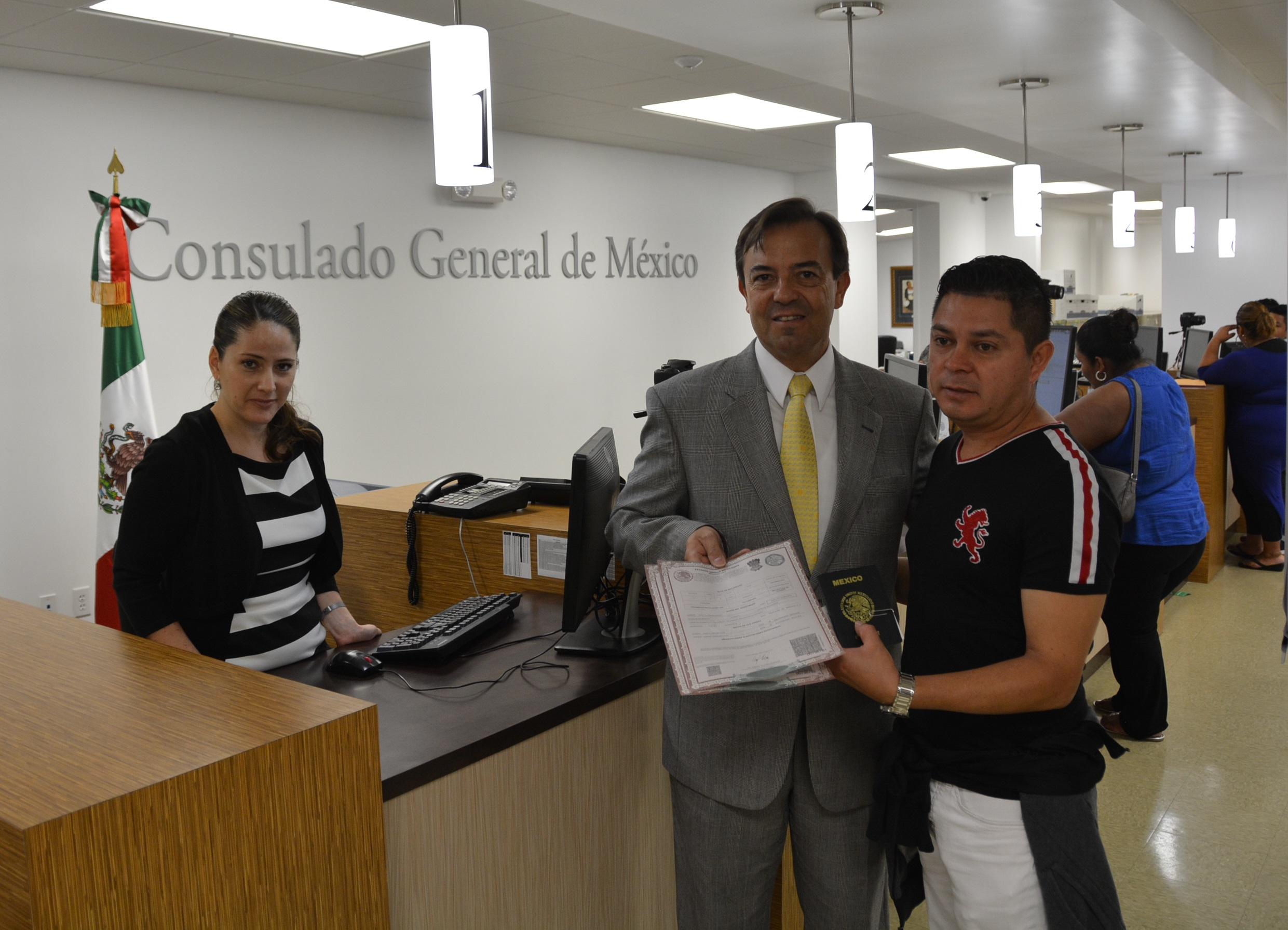 Embajadas y consulados de México comienzan a otorgar certificados de ...