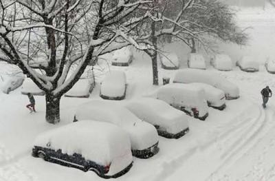 Tormenta de nieve Nueva York