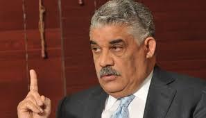 Miguel Vargas Ministro de relaciones exteriores del gobierno dominicano