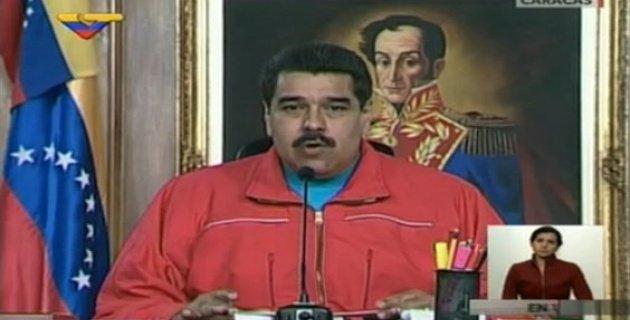 Maduro dice que lo que no logre con los votos, lo logrará con las armas