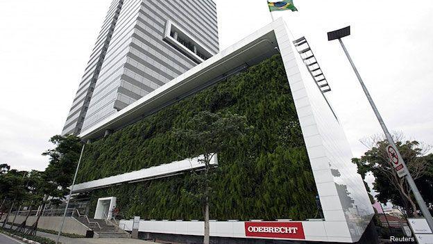 Odebrecht, el gigante brasileño de la construcción, está en la mira de los investigadores por el caso de sobornos en Petrobras.