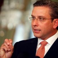 El gobernador de Puerto Rico, Alejandro García Padilla