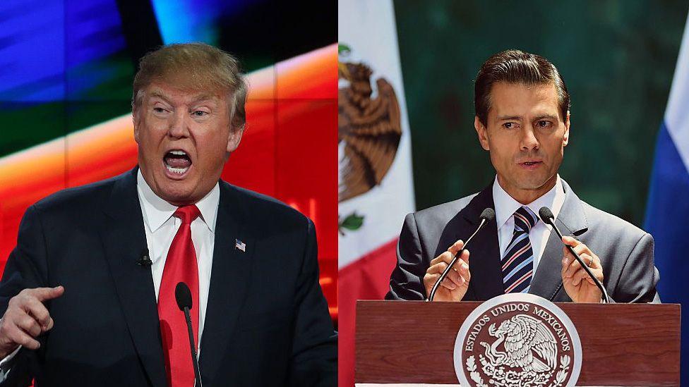 """México responde al tuit provocador de Trump: el narcotráfico """"es un problema compartido"""""""