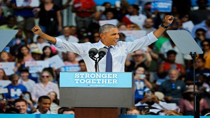 El Presidente Obama endorsa y hace campaña por latinos