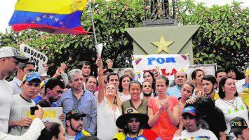 Marcha la Toma de Venezuela, Lilian Tintori