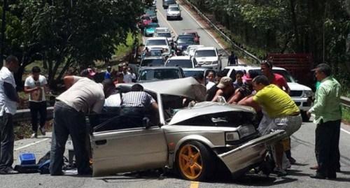 En RD los accidentes de tránsito son una epidemia