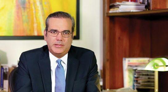 Lic. Luis Abinader dirigente del Partido Revolucionario Moderno PRM