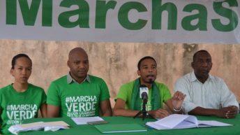 Organizadores de la Marcha Verde convocan nueva jornada de movilización