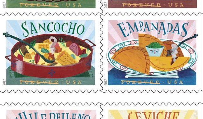 El servicio Postal de EE.UU. rinde tributo al Sancocho y a la gastronomía latina