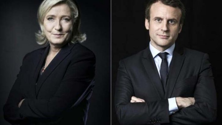 En Francia Macron se enfrenta a Le Pen como favorito en la segunda vuelta