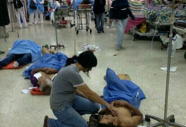 En Venezuela bombas lacrimógenas afectaron a pacientes del Materno Infantil de El Valle
