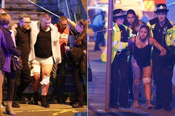 Se eleva a 22 la cifra de muertos, incluidos niños, en un atentado en un concierto de Ariana Grande en la ciudad británica de Manchester