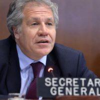 Luis Almagro: Necesitamos más presión sobre el régimen venezolano