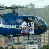 El gobierno venezolano denuncia que el Tribunal Supremo de Justicia fue atacado con granadas desde un helicóptero