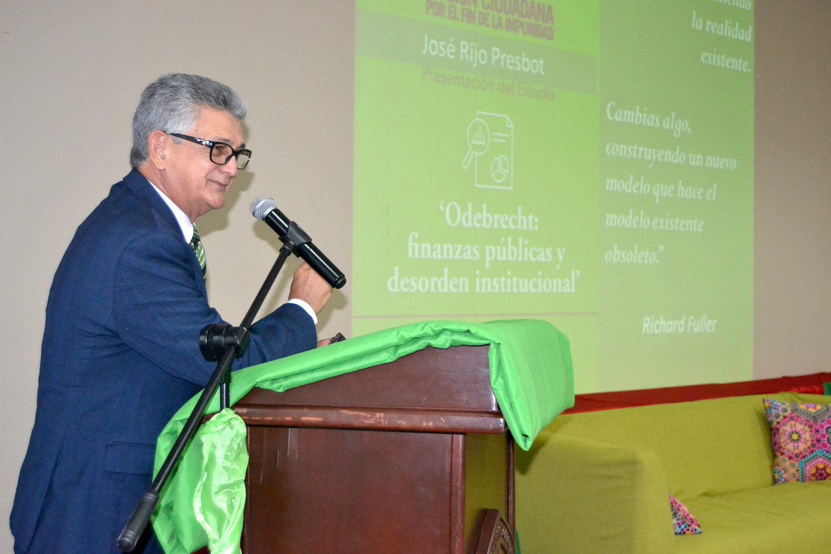 Jose Rijo Presbot economista