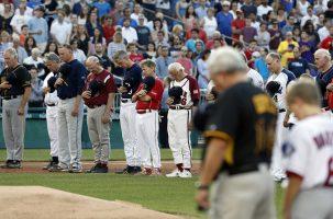 Juego de beisbol entre demócratas y republicanos