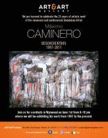 Maximo Caminero presenta su exposición