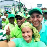 Entusiasmo y firme apoyo de militancia del PRM a la Marcha Verde del Este