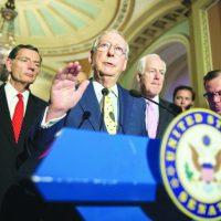 Republicanos se ven obligados a retrasar el voto sobre la ley de salud por una creciente oposición dentro del partido
