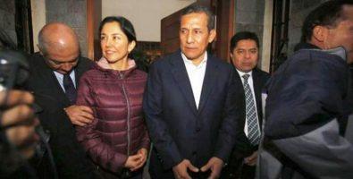 Dictan prisión preventiva contra el ex presidente de Perú Ollanta Humala.