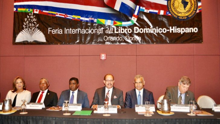 Concluyó con éxito V Feria del Libro Domínico Hispano en Orlando