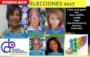 Plancha CDP Puerto Rico 2017