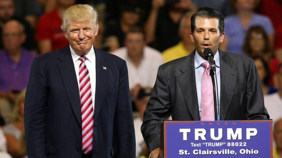 Trump Jr y su padre