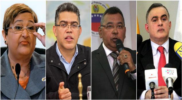 Otros funcionarios venezolanos sancionados por EEUU