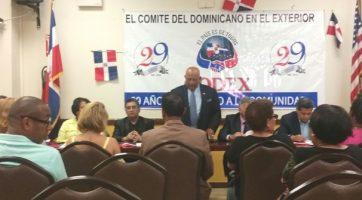 Codex demanda soluciones a males afectan dominicanos exterior