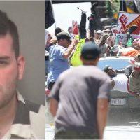 El supremacista acusado de atropellar a una multitud en Charlottesville golpeaba y amenazaba a su madre parapléjica, según registros del 911