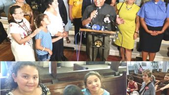 Madre hispana se refugia en iglesia católica Alto Manhattan para evitar deportación