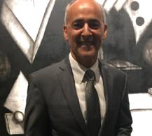 Máximo Caminero, pintor y politico dominicano, residente en Miami