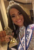 Mayra ALendra, ganadora del segundo lugar de Miss Teen