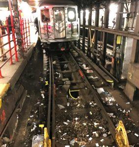 Aumentarán multas por tirar basura subway NY; estaciones Alto Manhattan están llenas