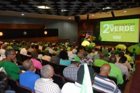 Participando en la 2da asamblea nacional del movimiento Marcha Verde
