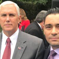 Make Pence Vicepresidente de EEUU y Carlos Vecchio, l presidente de Voluntad Popular