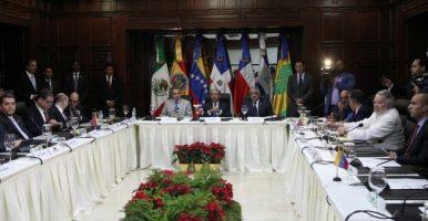 Diálogo gobierno y oposición venezolana