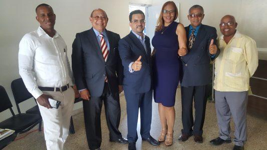 Aneudy De León M. Candidato oficial A la Secretaría General