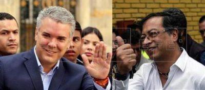 Iván Duque y Gustavo Presto van a segunda vuelta en mayo