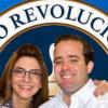Carolina Mejia y Jose Paliza.